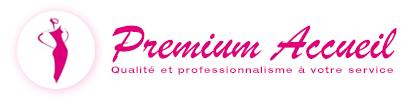 logo premium rose Hôtesses daccueil